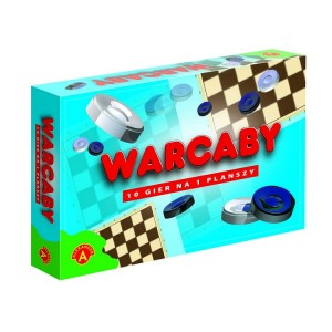 Warcaby 12 gier Alexander 3788