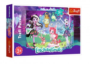 "Trefl Puzzle EnchanTimals 30 el. ""Magiczny świat Enchantimals"" 18236"