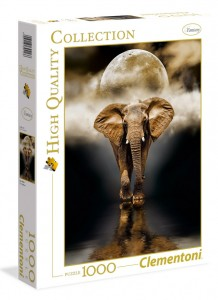 Puzzle 1000 el. The Elephant - Clementoni 39416