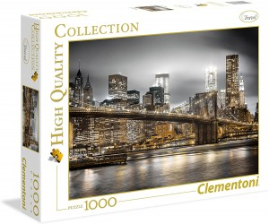 Puzzle 1000 el. New York Skyline - Clementoni 39366