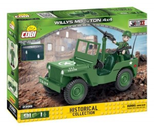 COBI 2399 Jeep Willys MB 1/4 Ton 4x4