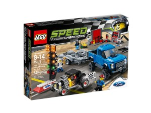 Ford F-150 Raptor i Ford Model A Hot Rod LEGO Speed Champions 75875